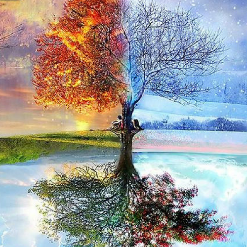 THE MAGICAL TREE - DIAMOND PAINTING