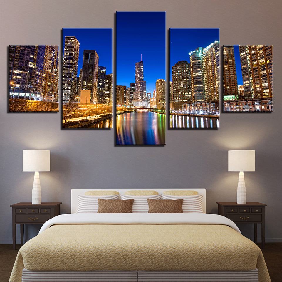 City Landscape Canvas Art