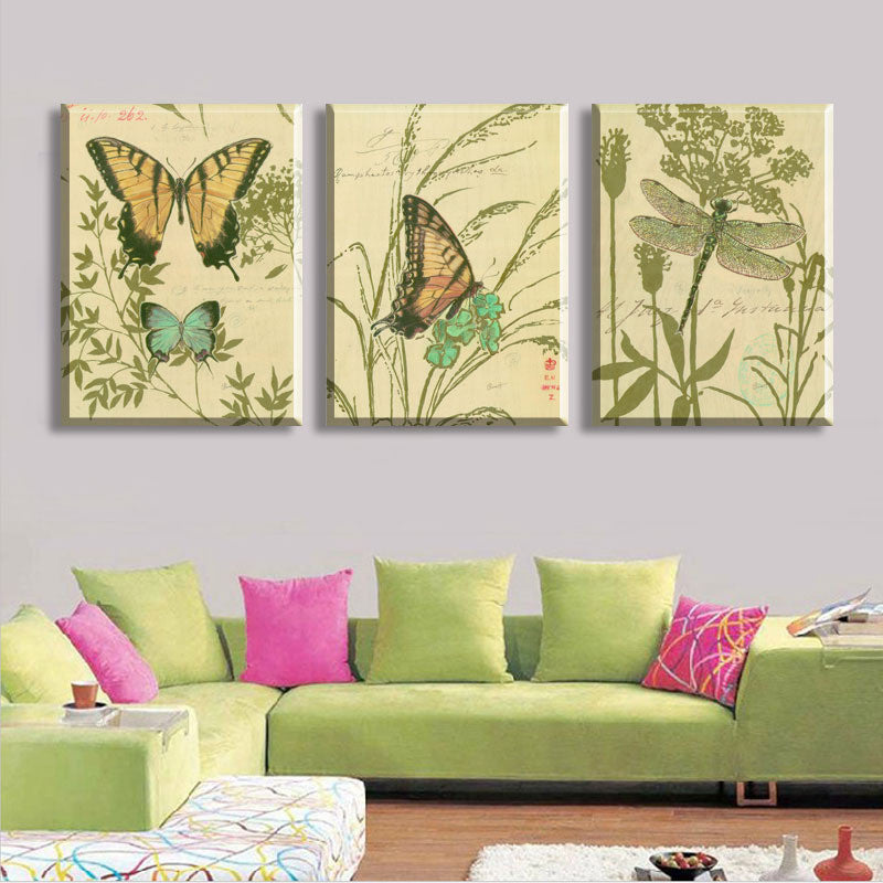 Vintage Butterfly Canvas
