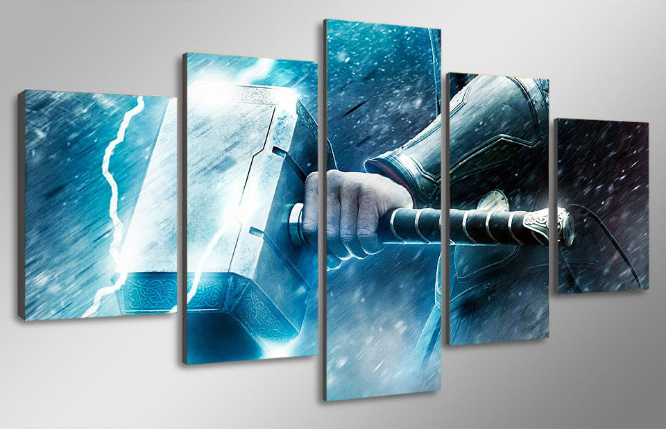 Thor Dark World Canvas