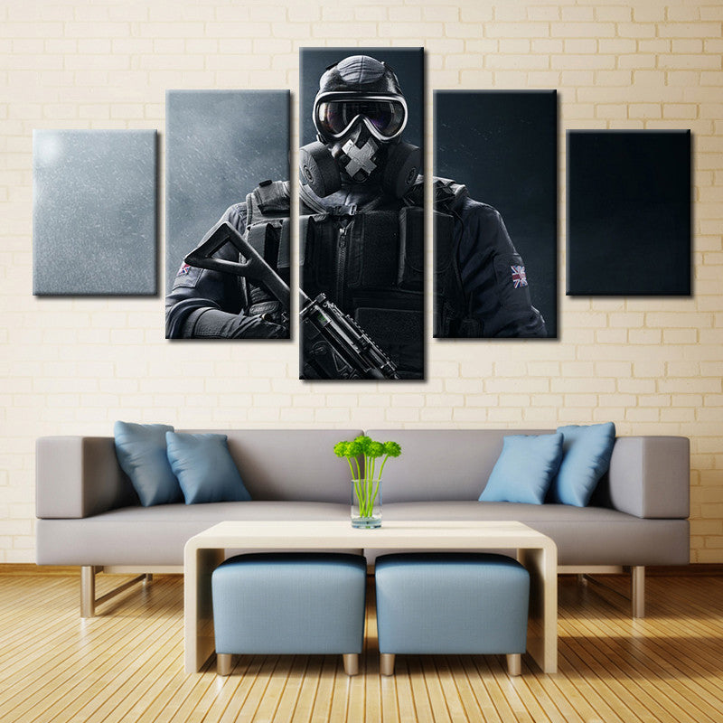 Military Soldiers Limited Edition Canvas