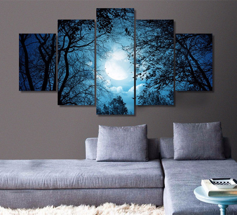 Dreamy Night Canvas Art