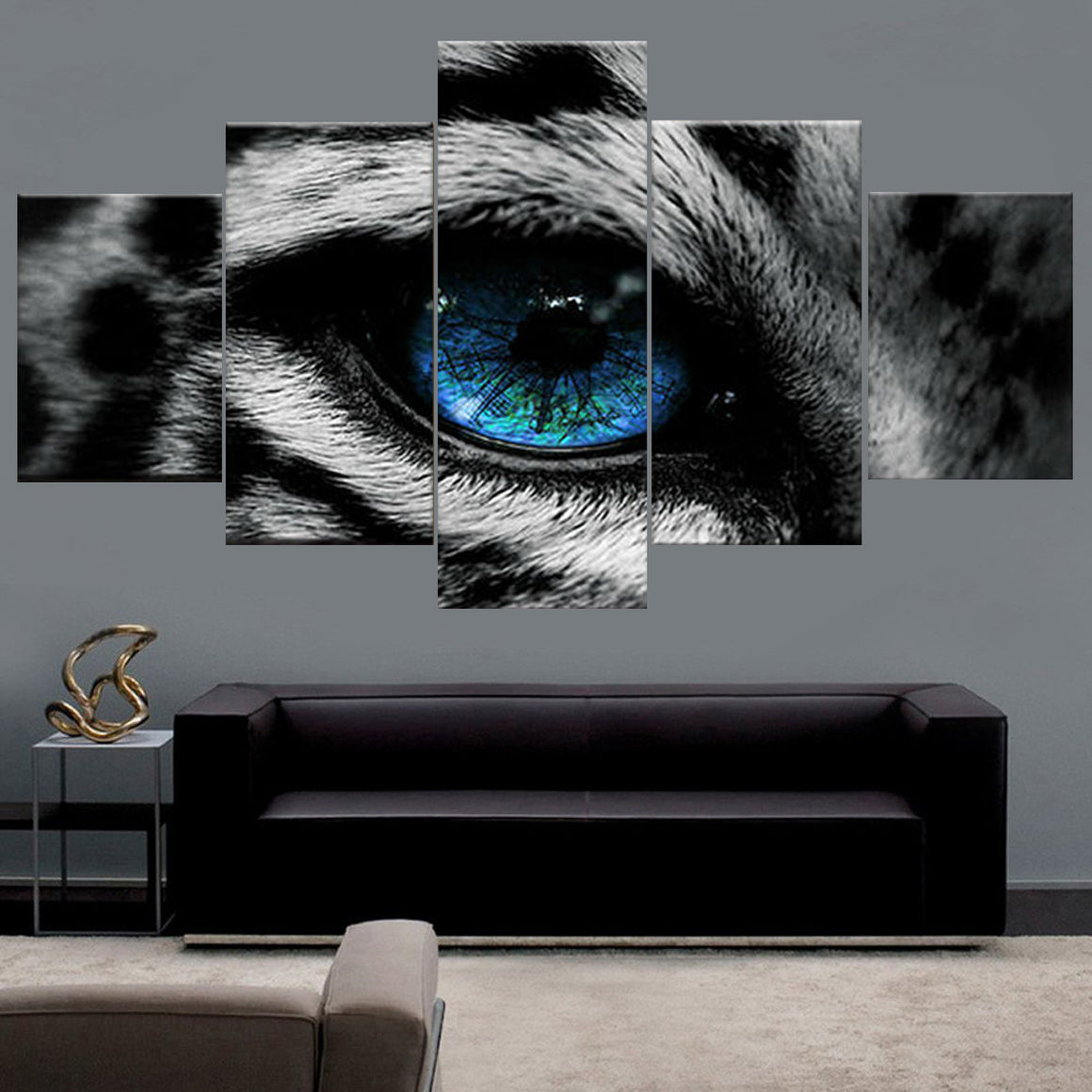 Wolf Eye Canvas Wall Art