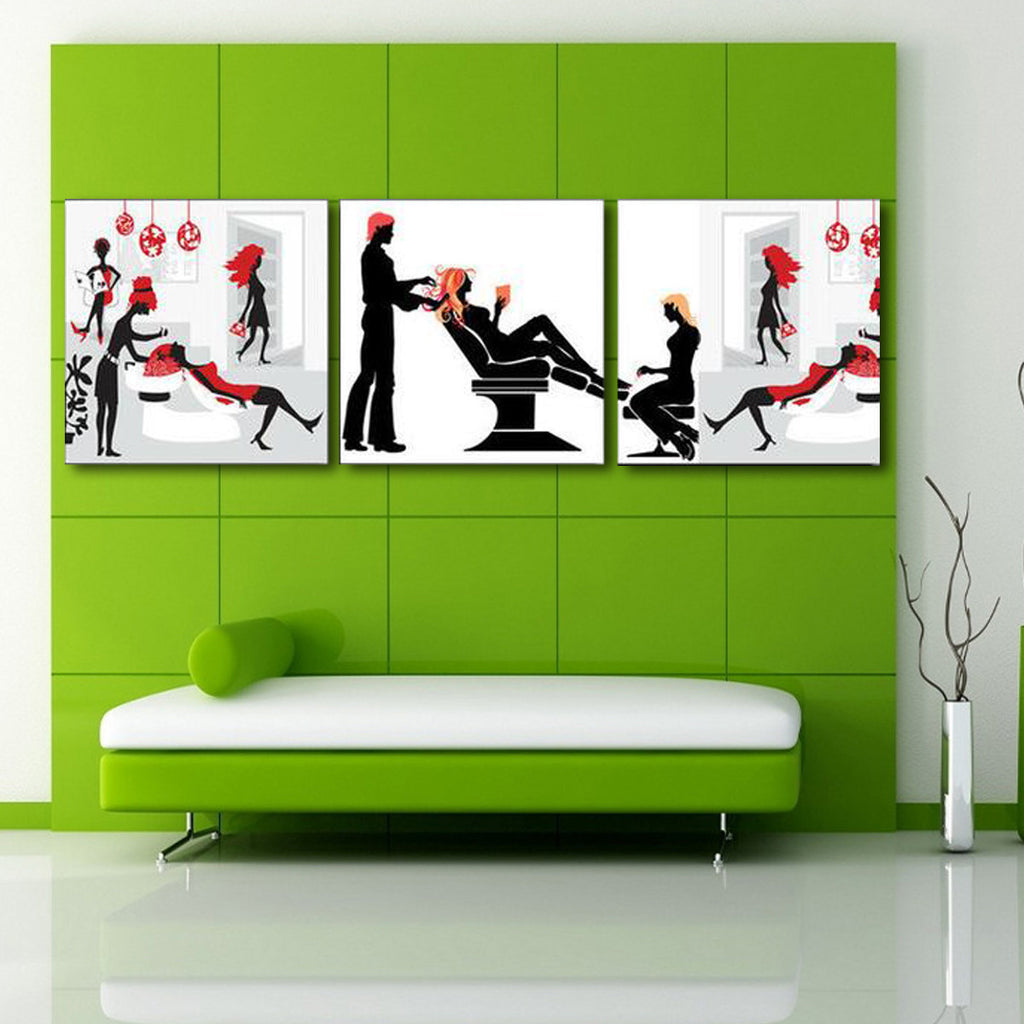 Salon Decorative Canvas Art