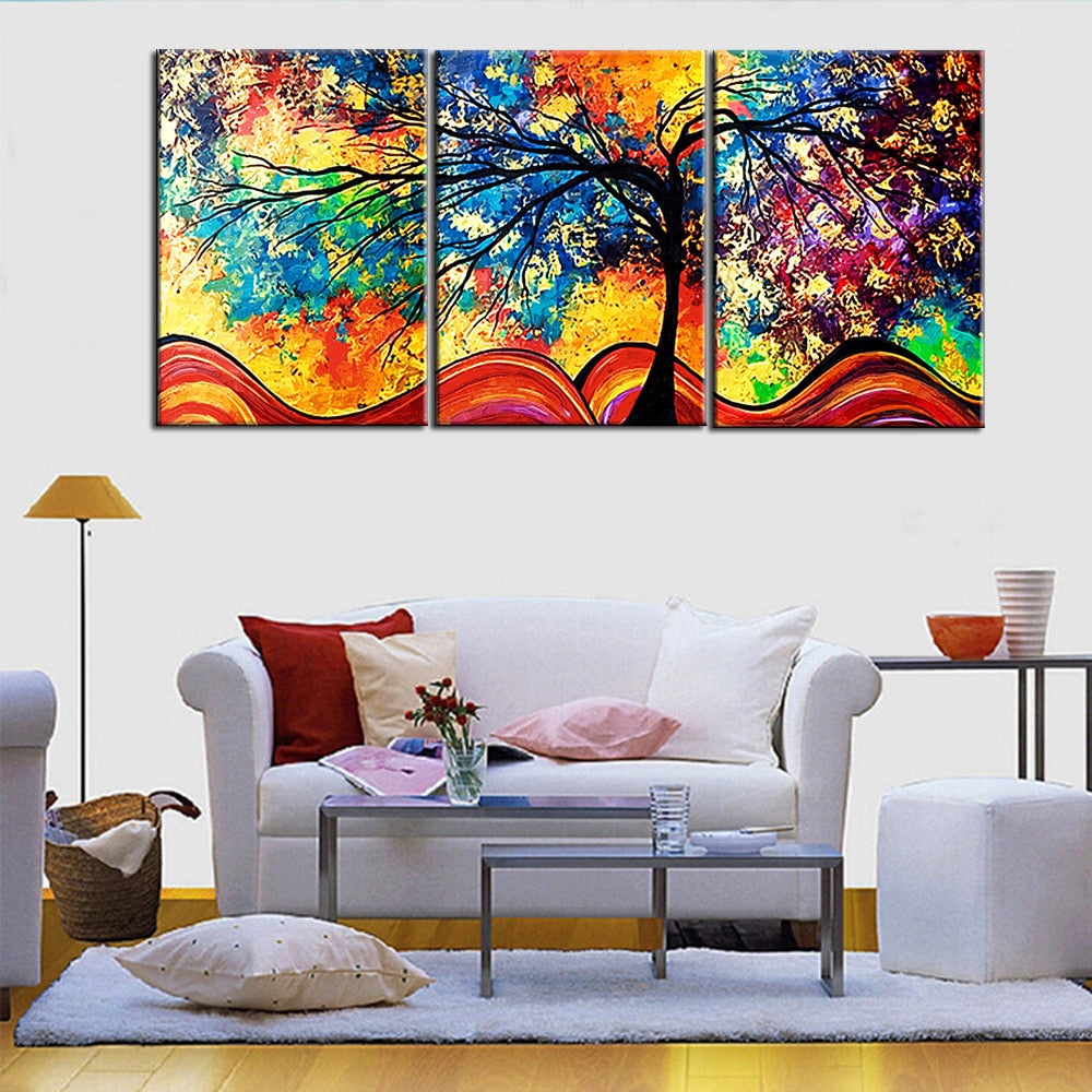 Abstract Tree Wall Art