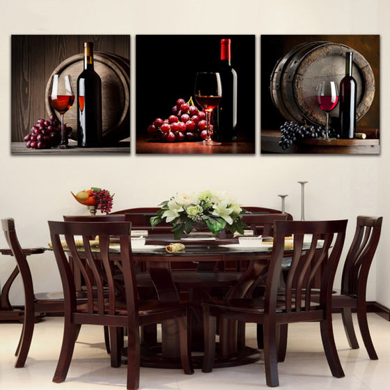 Glass of Red Wine Wall Art