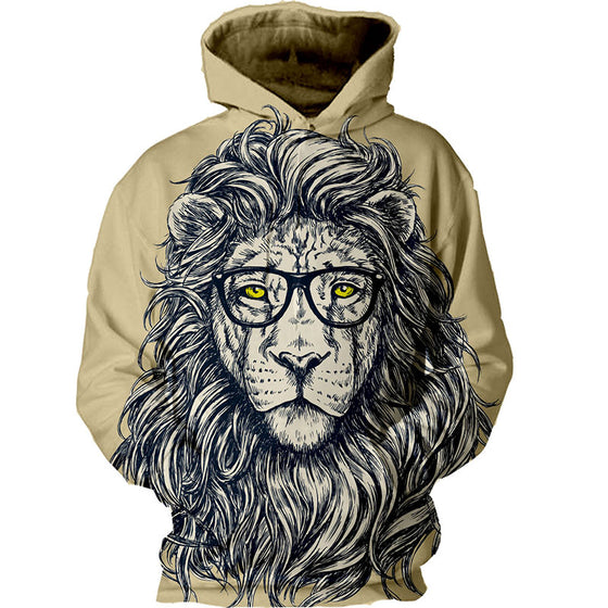 Wise Lion Hoodie
