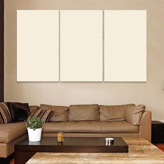 3 Panel Custom Horizontal Canvas