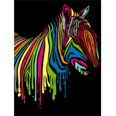 Rainbow Animals - Paint by Number Kit