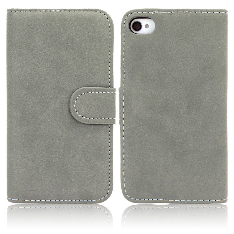 High Quality Leather Case For iPhone 4/ 4S