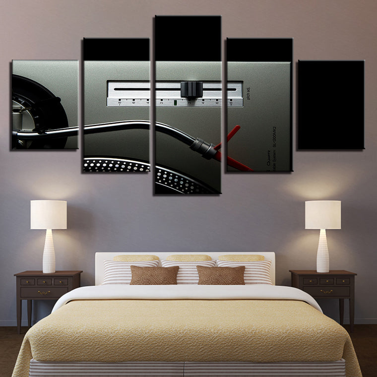 Classic Vinyl DJ Multipanel Canvas