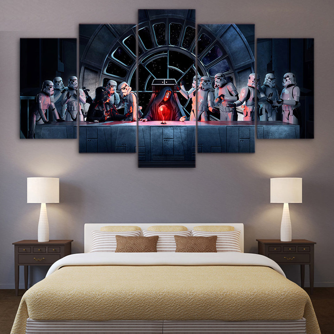 the lord of the rings balrogs modern canvas wall art  anjuna lane - spacecraft robot canvas art