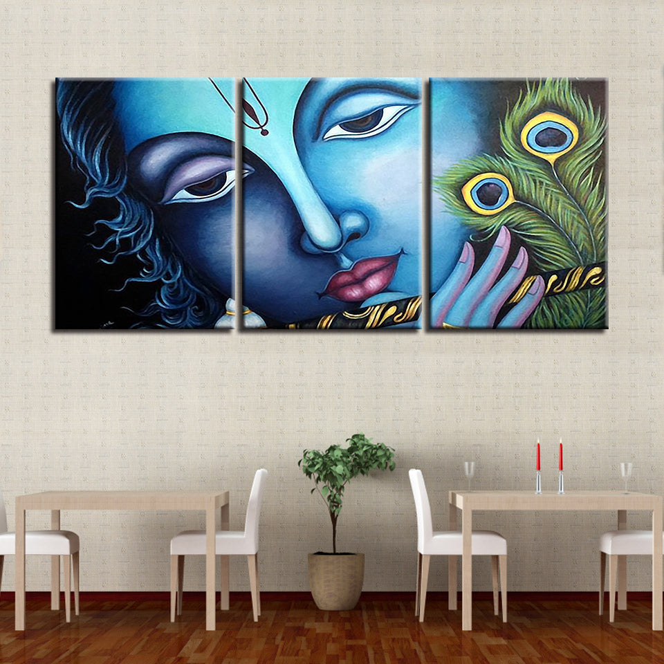 Lord Krishna Canvas Art