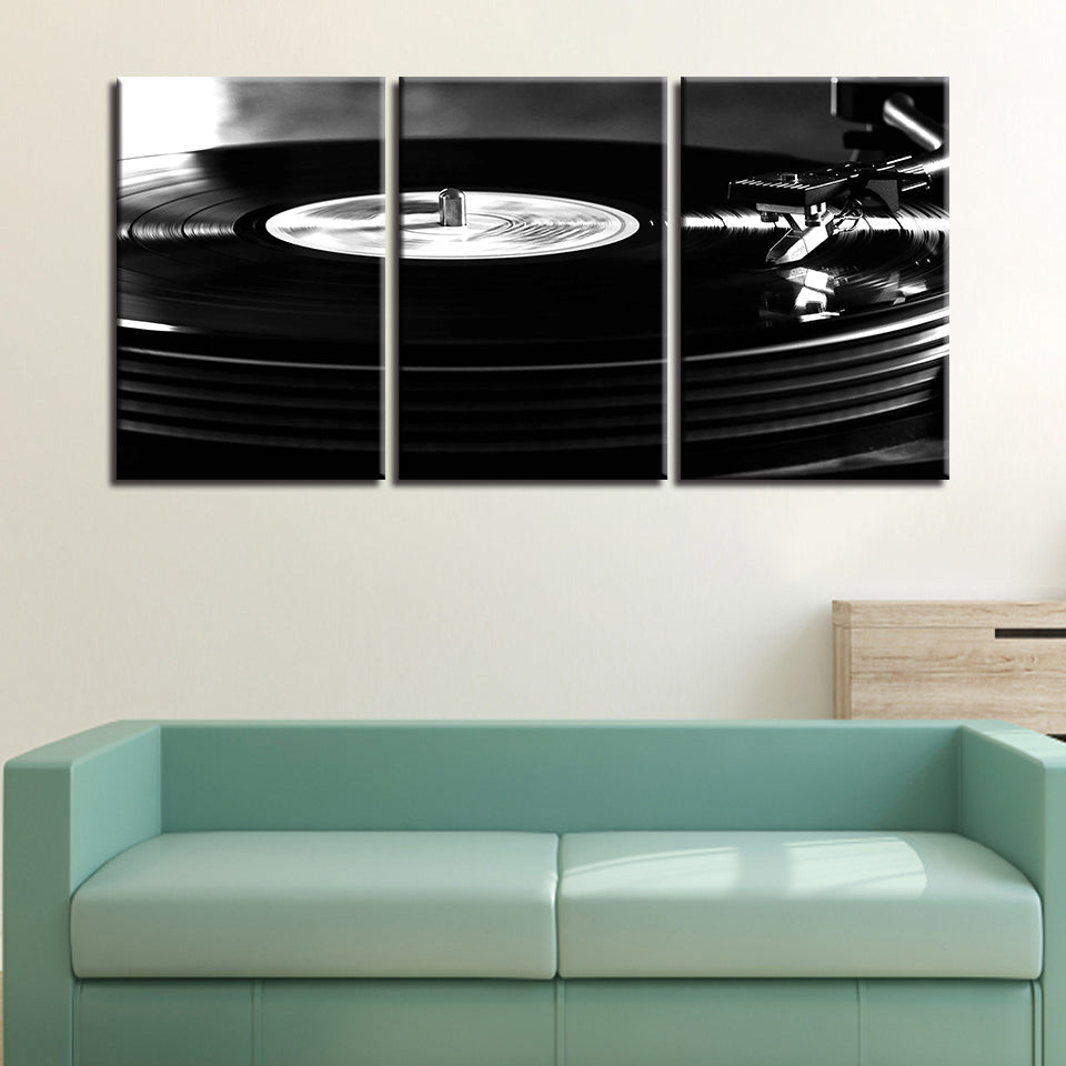 Playback DJ 3Pcs Canvas Art