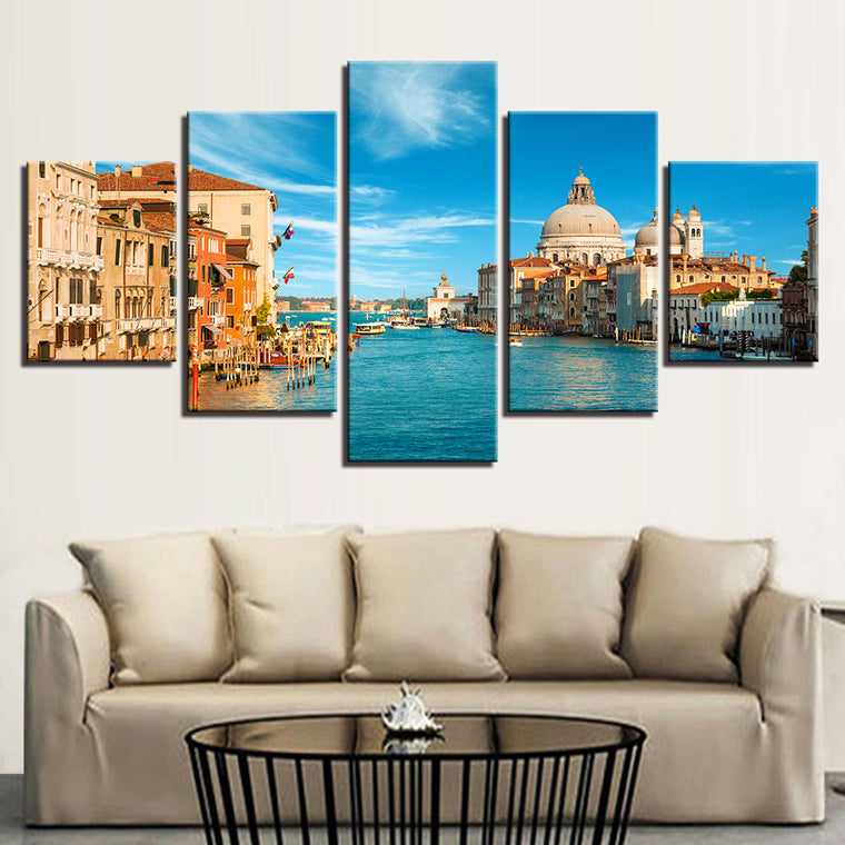 Venice Italy landscape Canvas Art