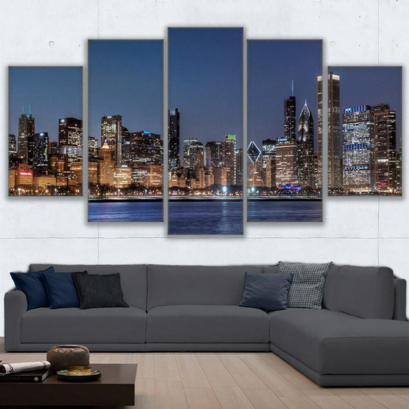 Chicago Cityscape Canvas Art