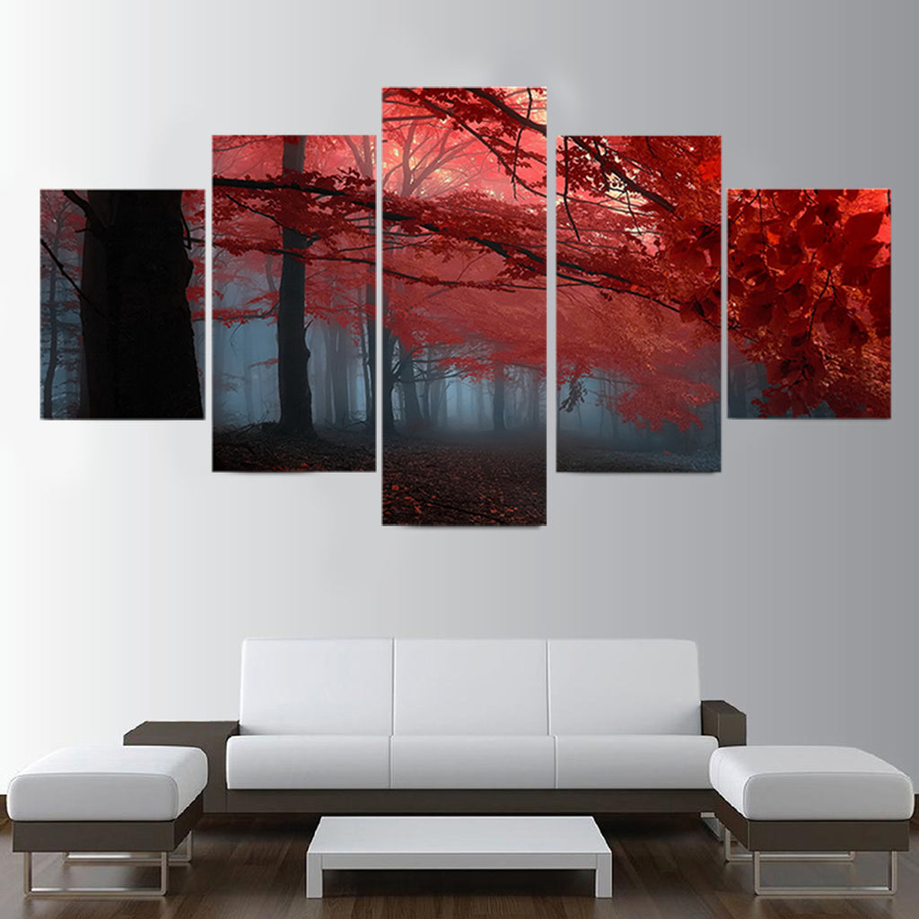Autumn Season Canvas Art
