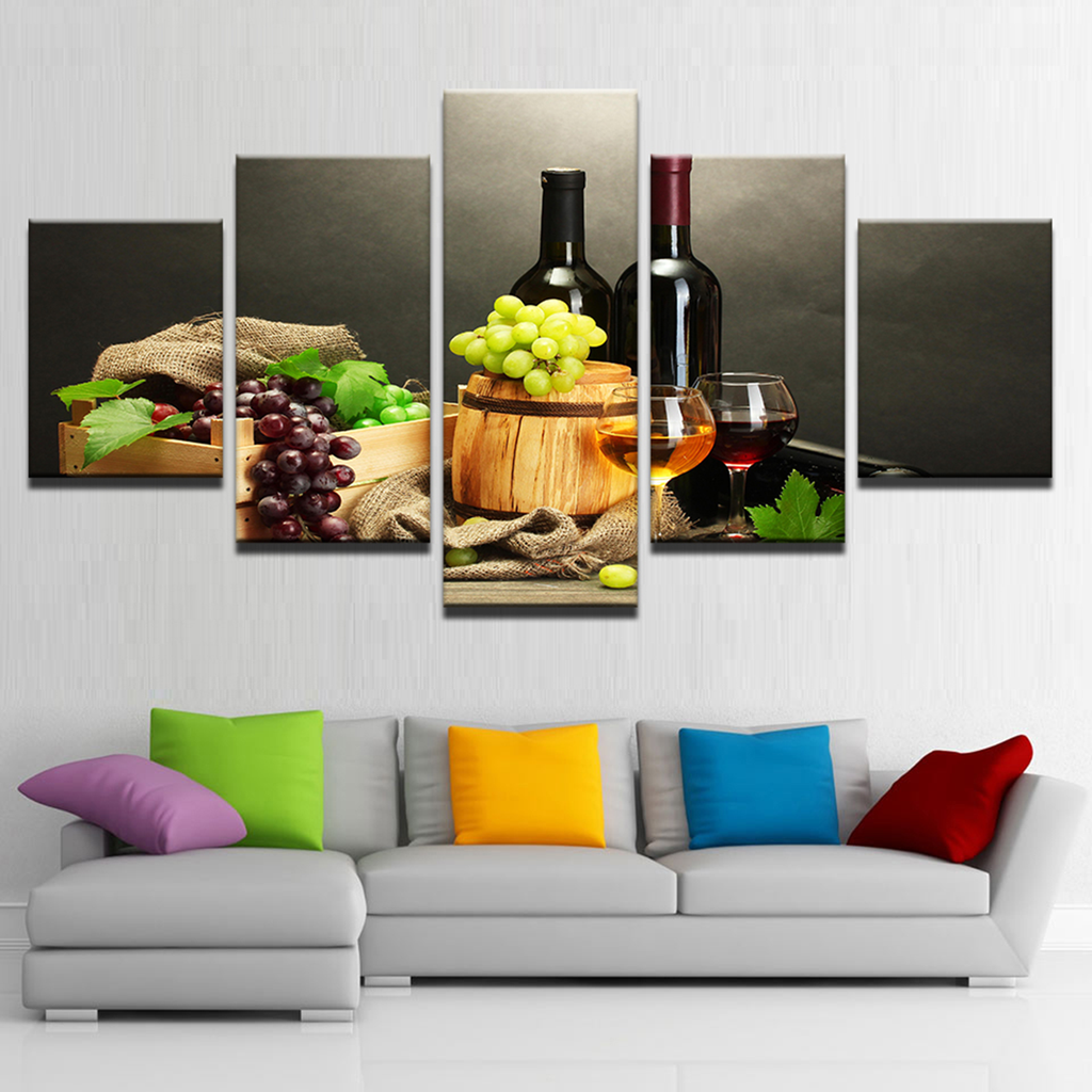 Grape Wine Canvas Art