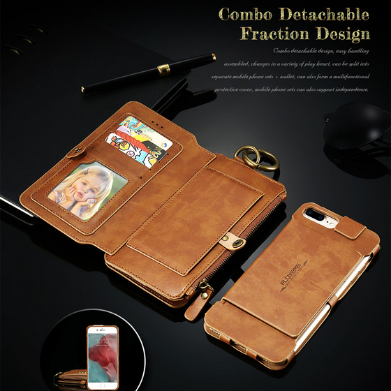 Luxury Leather Wallet Case For Samsung
