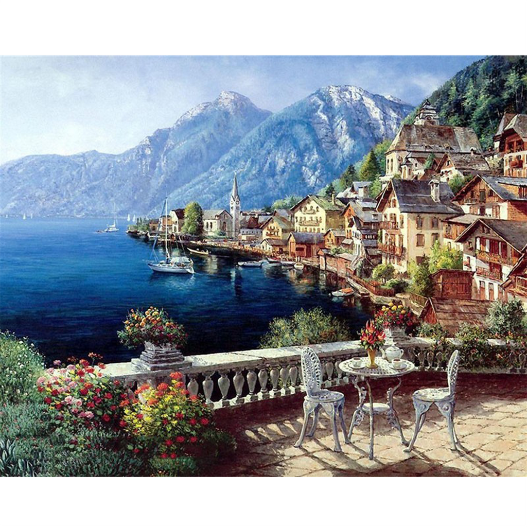 Sea View Paint by Numbers Kit