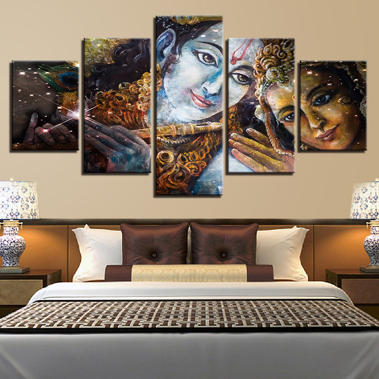 Radha Krishna Limited Edition Wall Art