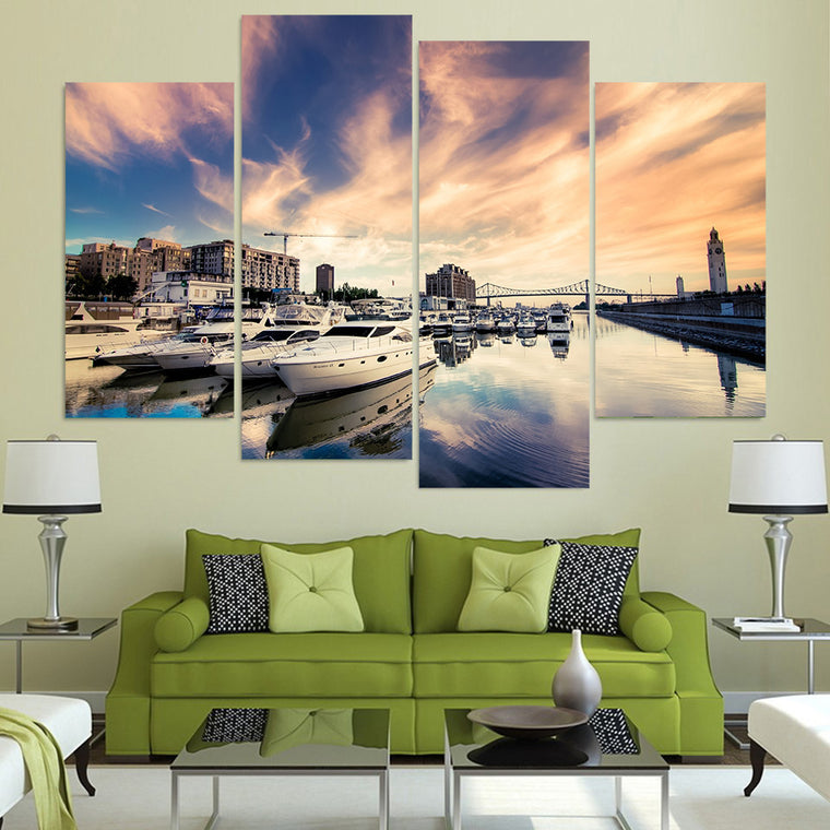 Riverside Yachts Wall Art