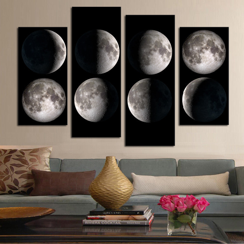 Moon Cycle Wall Art