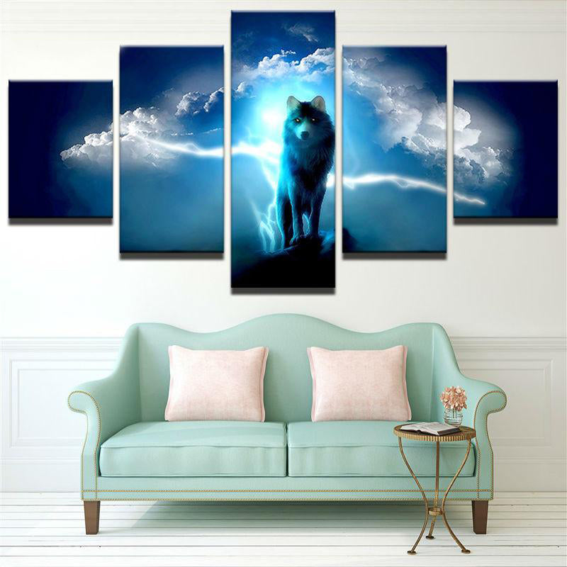 Wild Wolve Canvas Art