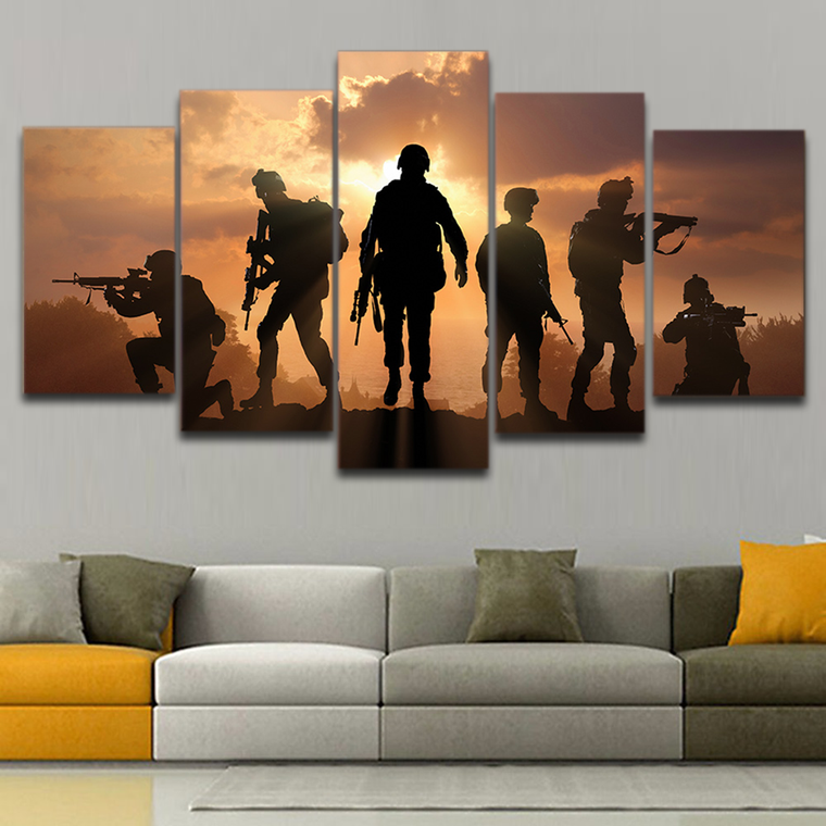 Tribute to Soilders Wall Art