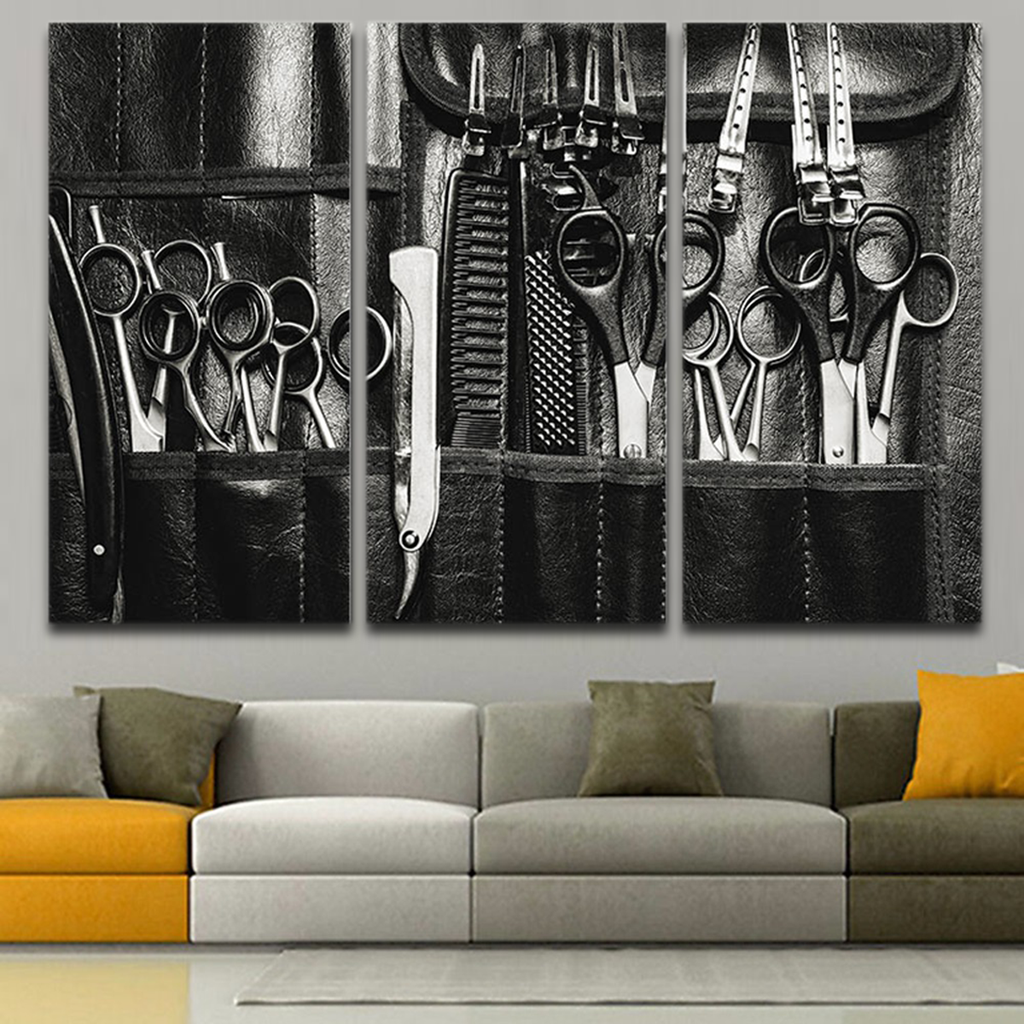 Haistylist Scissors Wall Art