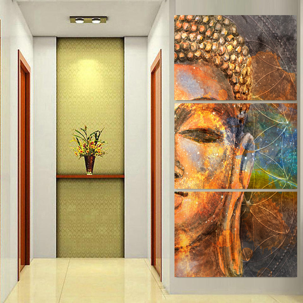 Spiritual Buddha Canvas 3pcs