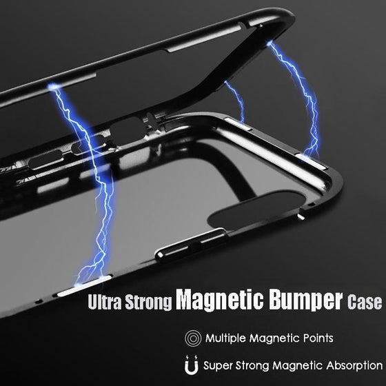 Magnetic Armor Adsorption IPhone Case.