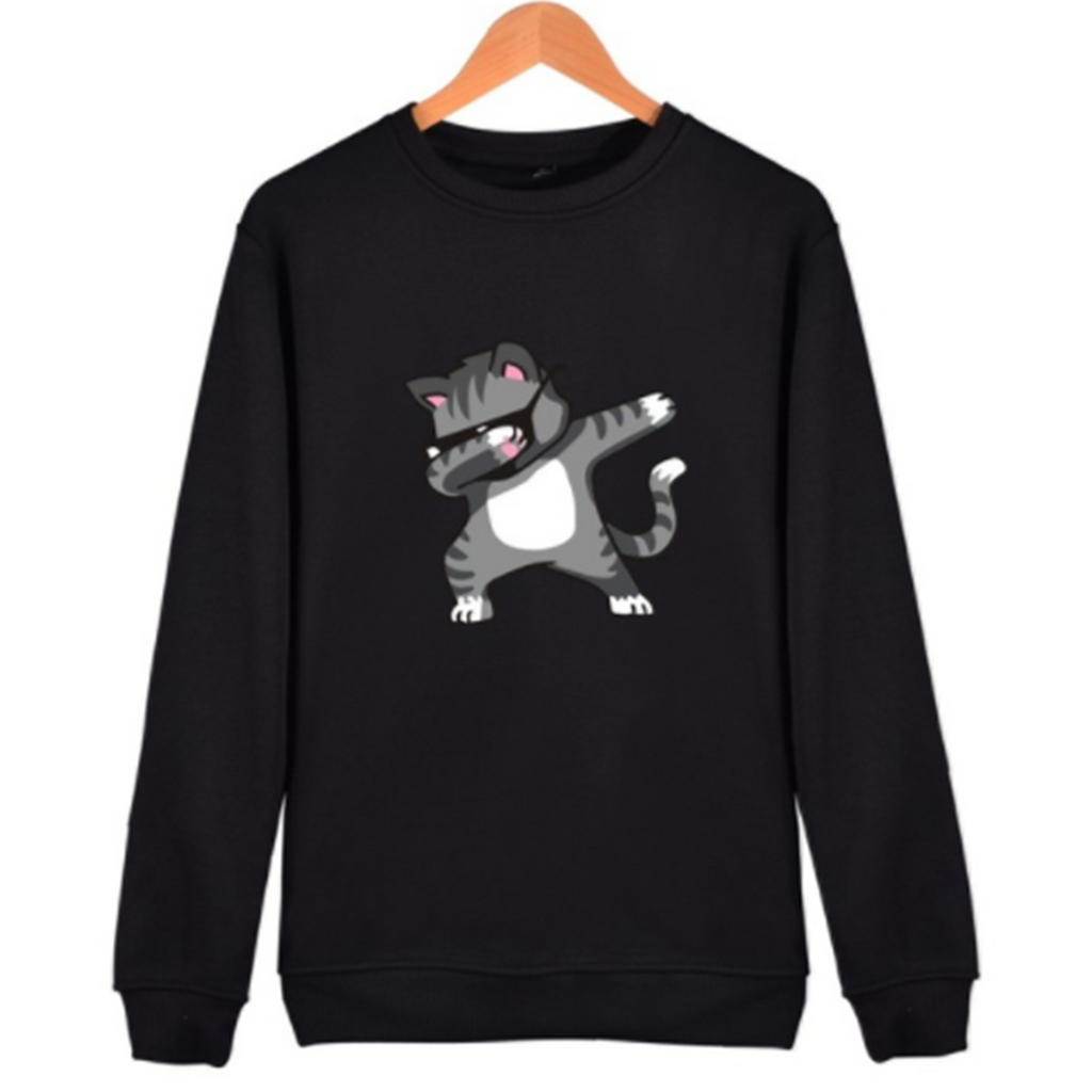DAB CAT UNISEX SWEATSHIRT