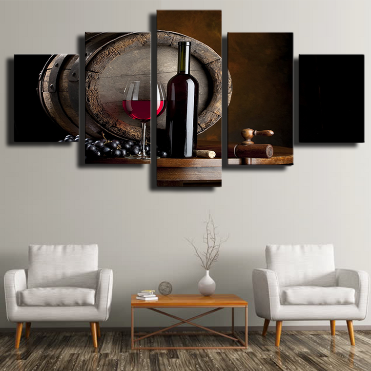 Limited Edition Wine Canvas Art
