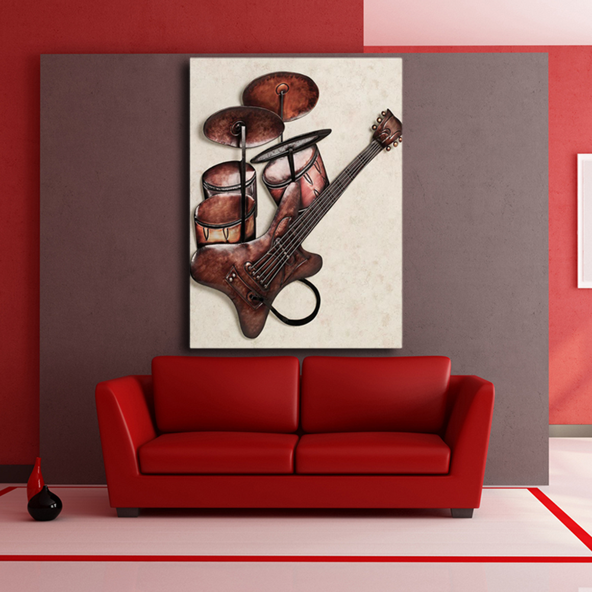 Guitar and Drum Painting