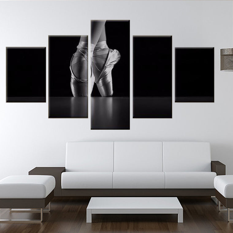Ballet En Pointe Wall Art