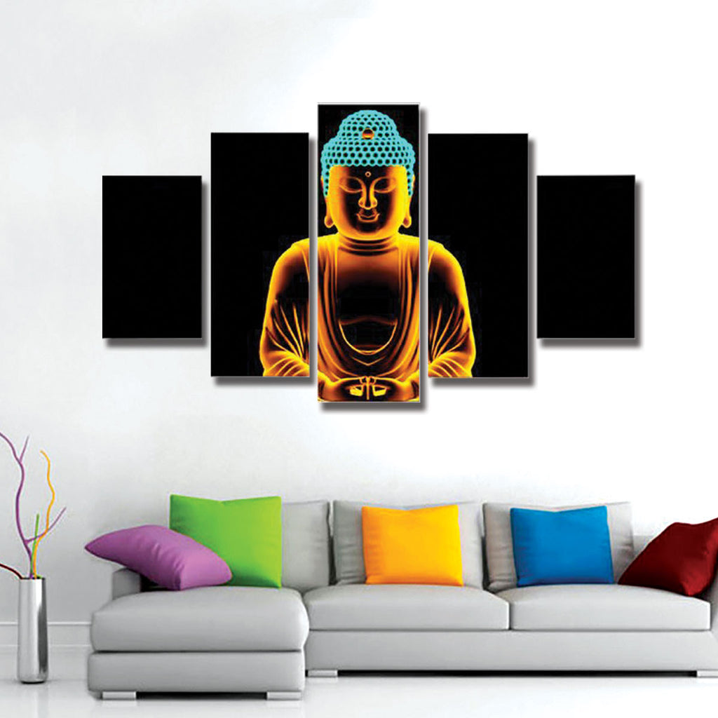 The Enlightened Buddha Canvas Wall Art