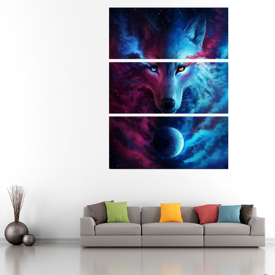 Spirit Wolf Canvas Art