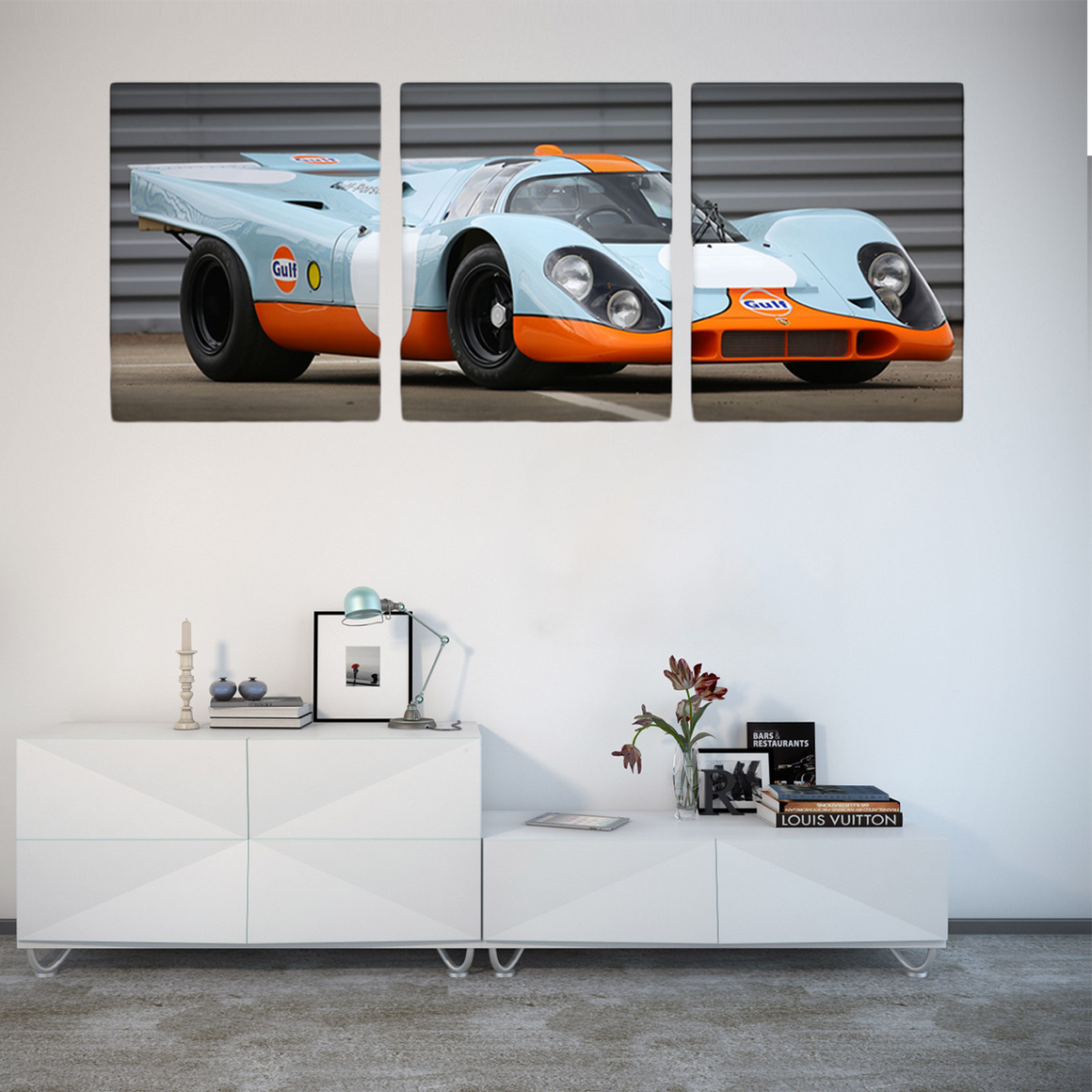 Luxury Racing Sports Car Canvas