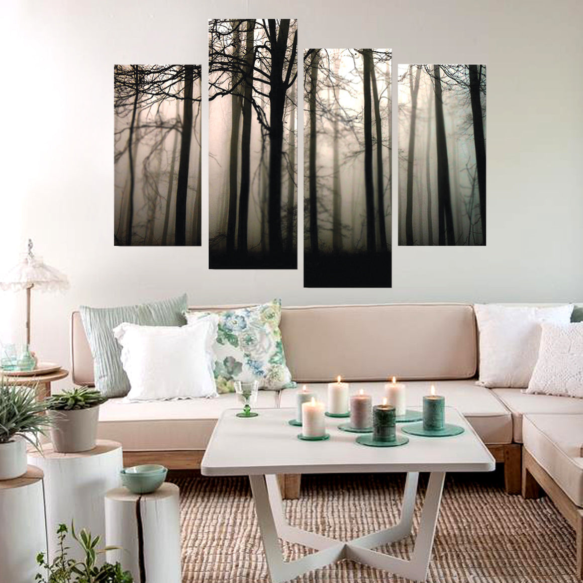 Dark Forest Wall Art