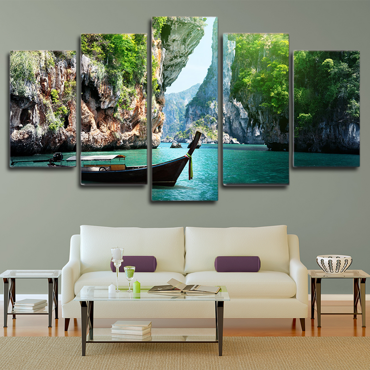 Canyon Lake Landscape Wall Art