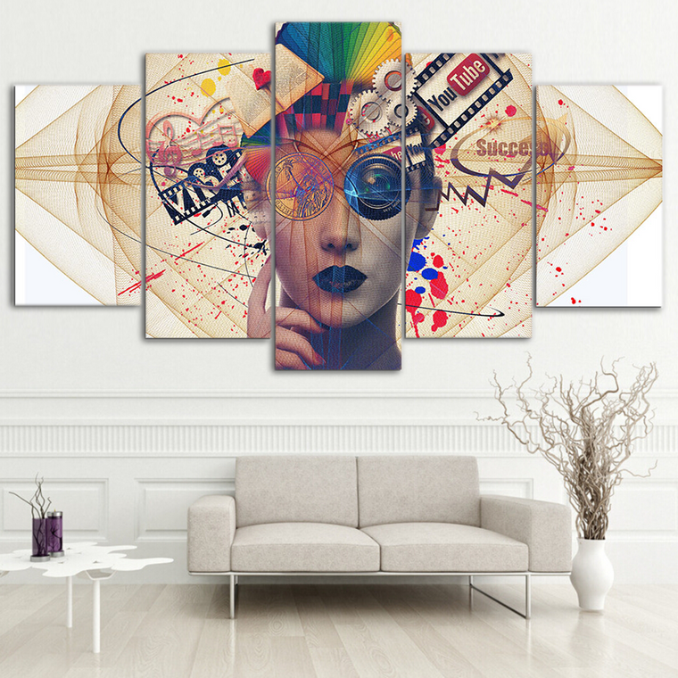 Modern Beauty Abstract Wall Art