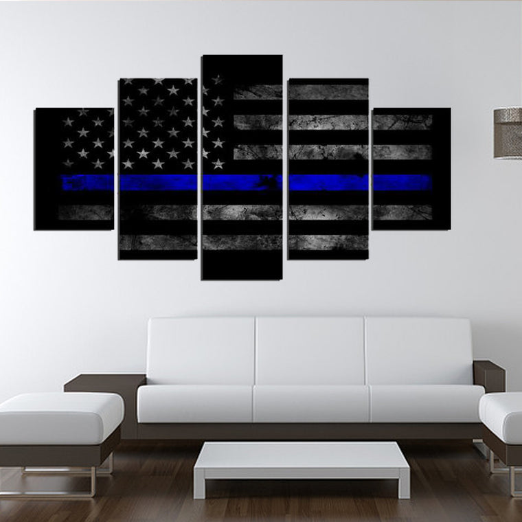 The Line Canvas Wall Art