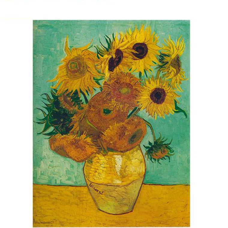 Sunflowers Portrait - Paint by Numbers Kit