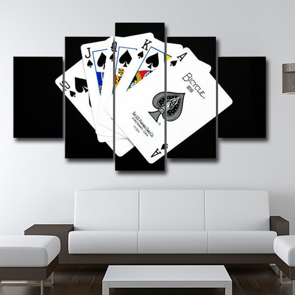 Poker Wall Art