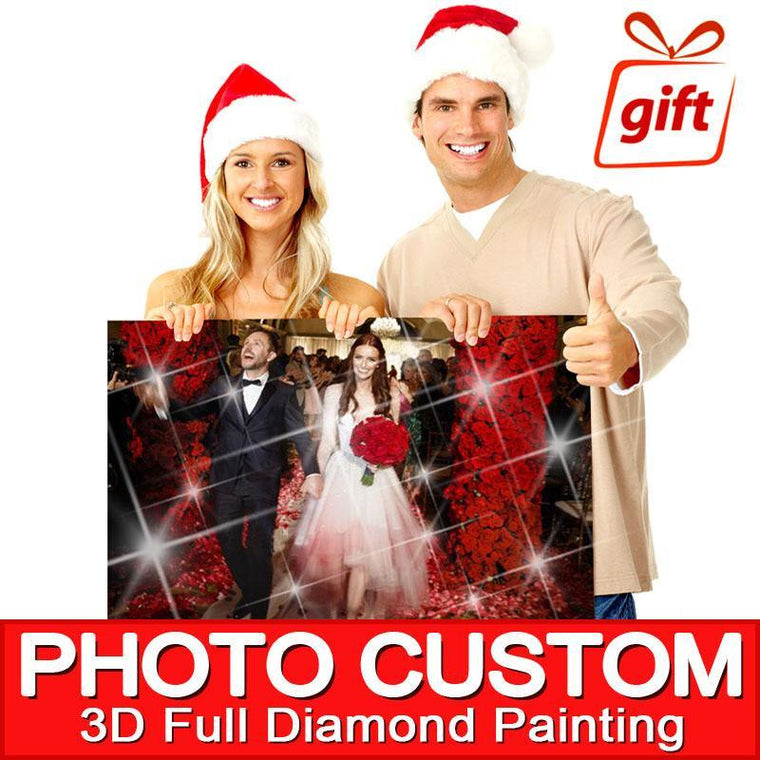 DIAMOND PAINTING - YOUR OWN PICTURE - CUSTOM CREATOR