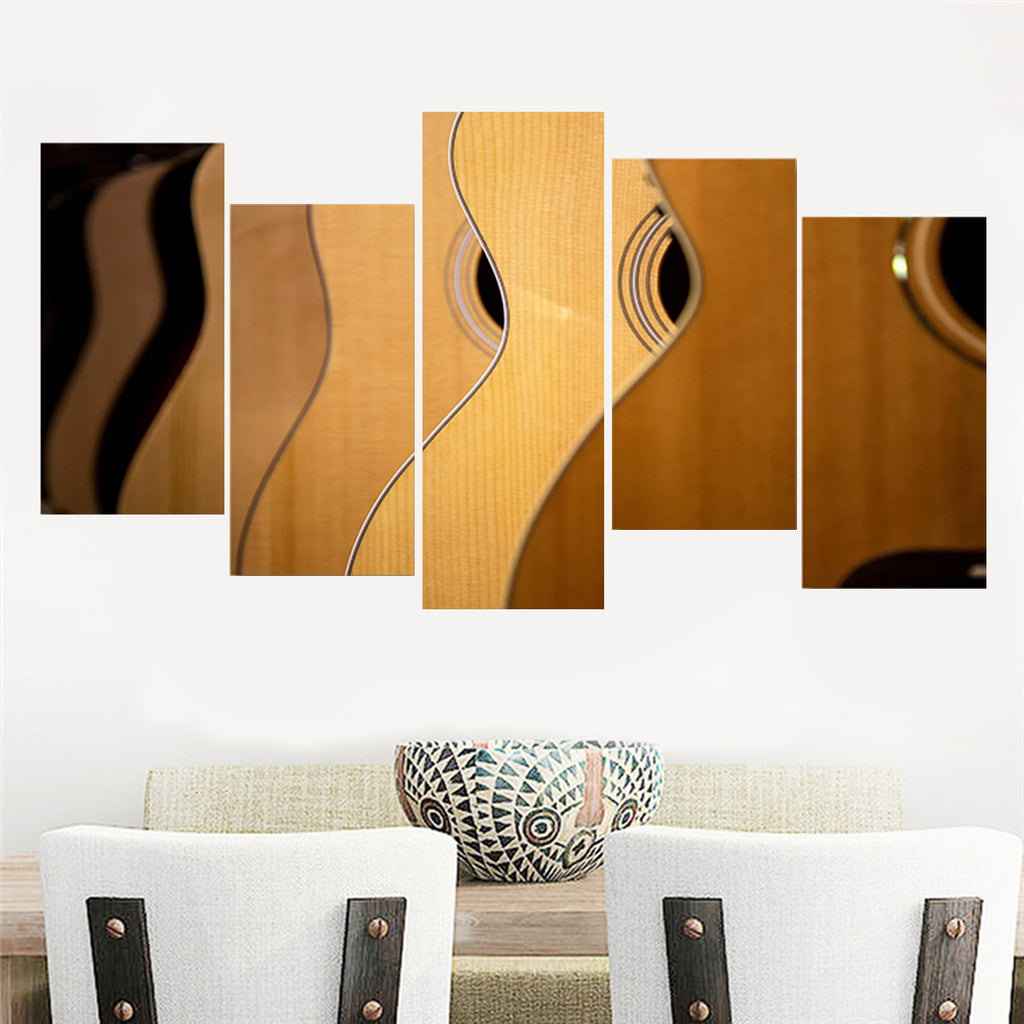 Shades Of Guitar Canvas Art