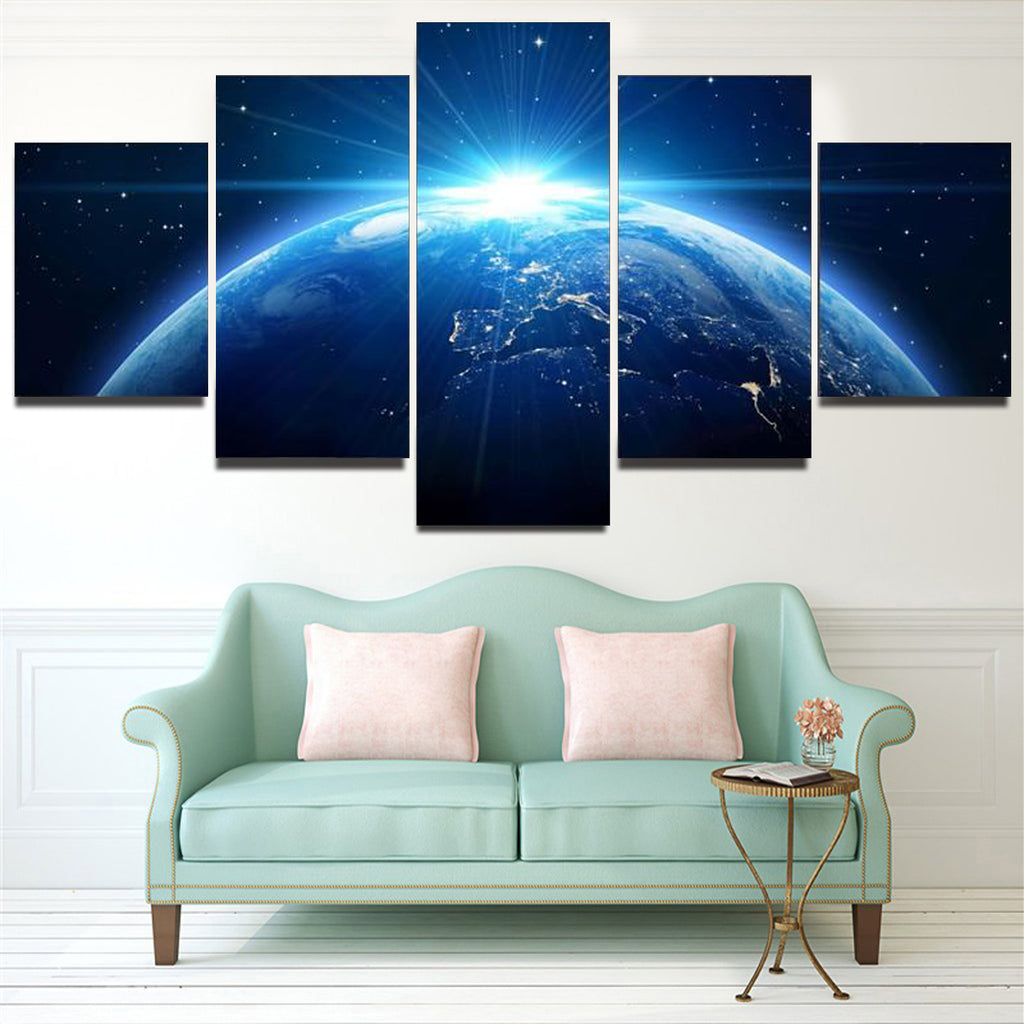 Space View Canvas Art