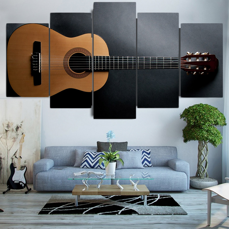 Classic Guitar Canvas Art