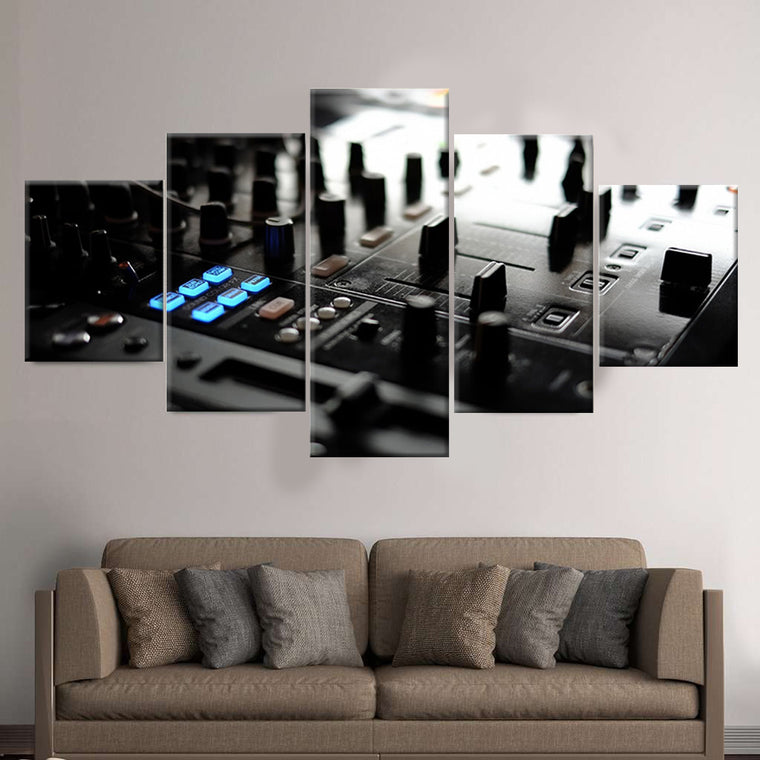 DJ Controller Canvas Art
